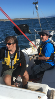 TNT Races 5-15-18 Heading back from 2ES paying attention as we overtake another boat